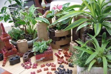 """簡単DIY!誰でも簡単に植物をオシャレに飾れる""""レンブロック""""知ってますか?"""